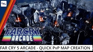 Watch us create a Bloodborne-inspired PvP survival map using Far Cry 5's awesome Arcade Editor