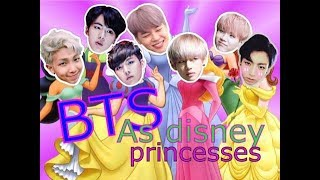 Download Lagu BTS as disney princesses Mp3
