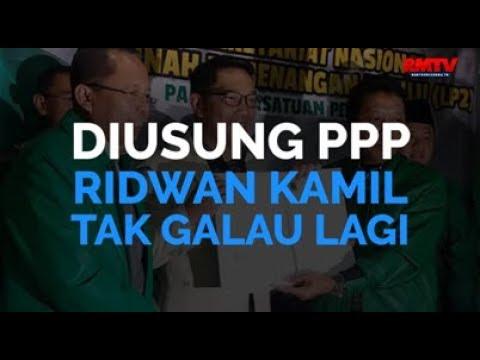 Diusung PPP, Emil Tak Galau Lagi