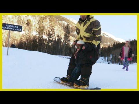 TWO-YEAR-OLD SNOWBOARDS! | Roadtrip Day 1_Legjobb vide�k: Extr�m