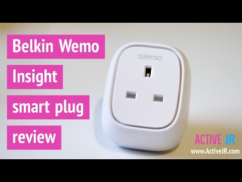 Belkin Wemo Insight smart plug review UK version - low cost Smart home plug with energy monitoring