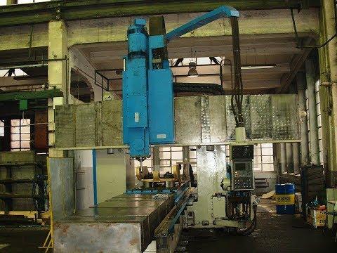 CNC Portal Milling Machine STANKOIMPORT 6M610F11 1986
