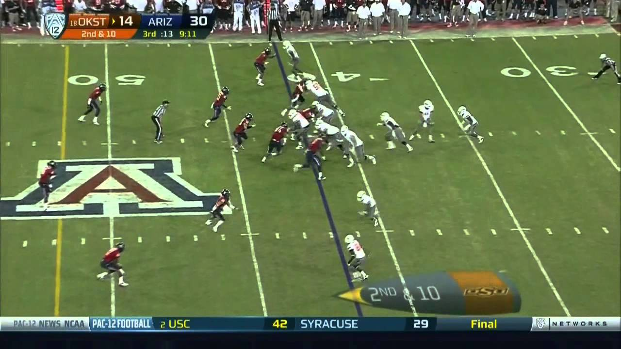 Joseph Randle vs Arizona (2012)