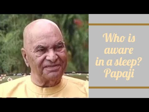 Papaji Video: Awareness is Even Aware of Absence