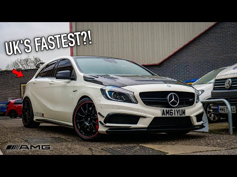 THE UK'S FASTEST A45 AMG?!! *BIG TURBO*