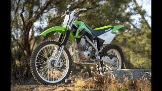 8. Delightful 2018 Kawasaki KLX140G 5 speed manual transmission and a carbureted single-cylinder engine