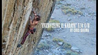 CHRIS SHARMA ON EVERYTHING IS KARATE 5.14 C/D by Chris Sharma