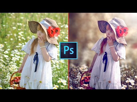 Video Photoshop CC Tutorial - Fantasy Look Photo Effect Editing | Bokeh Background download in MP3, 3GP, MP4, WEBM, AVI, FLV January 2017