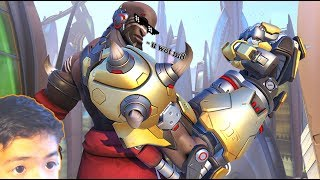 "HEY guys, Shredder here, and welcome back to Overwatch! It's been a while, and I have to say I'm not disappointed to come back to Doomfist's release. Does a ton of damage, invincible while ulting, and has quick cooldowns. What a savage. Thanks for watching, hope you enjoyed, and remember to smash that like button and subscribe if you laughed! XDPlaces you can see my ugly face!Instagram: https://www.instagram.com/shredderftw/Twitter: https://twitter.com/ShredderFTWMusic used in my intro: ""I Found Love"" by Dustin Miles ft. Brenton Mattheus (Ninety9lives)Listen to it! https://www.youtube.com/watch?v=ygSW0pYM274"