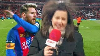 Download Video Football Players Trolling & Mocking Journalists / Reporters ● Messi, Ronaldo, Zlatan [2018] Fails MP3 3GP MP4