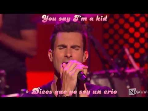 NAVHY: Maroon 5 - Moves Like Jagger ft. Christina Aguilera (subtitulado español - inglés)