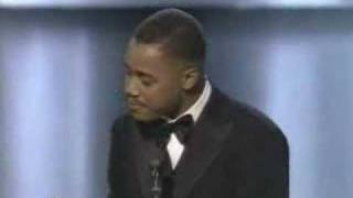 Cuba Gooding Jr. wins the Oscar for Supporting Actor for Jerry Maguire at the 69th Annual Academy Awards. Mira Sorvino...
