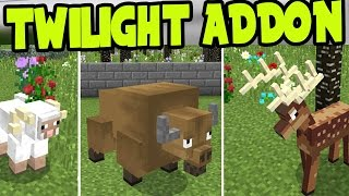 MCPE TWILIGHT ADDON and BEHAVIOR PACK! Twilight Addon and Behavior Pack - Minecraft Pocket Edition