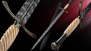 Video Making a Mosaic Longsword with an ABS Mastersmith - Kyle Royer MP3, 3GP, MP4, WEBM, AVI, FLV September 2019