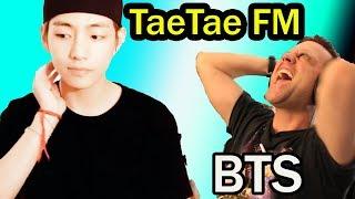 Video BTS Reaction: Kim Taehyung presents TaeTae FM - Episode 1 (guests : Jungkook, RM & J-Hope download in MP3, 3GP, MP4, WEBM, AVI, FLV January 2017