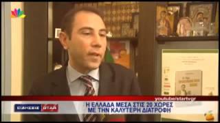 Δημήτρης Γρηγοράκης @ Κεντρικό Δελτίο Ειδήσεων