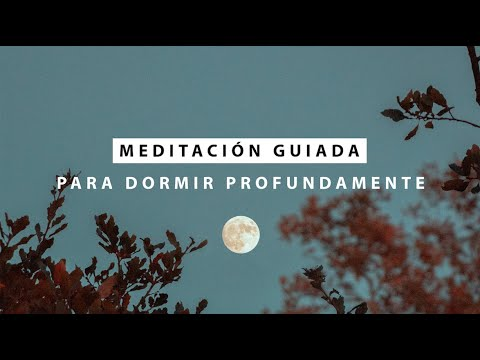 Meditación Guiada para Dormir y Descansar Profundamente 🌙  MEDITACIÓN CORTA PARA RUTINA DE NOCHE