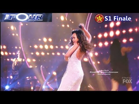 """Evvie McKinney sings """"Proud Mary"""" filled with Energetic Dancing The Four Finale"""
