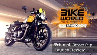 10. Triumph Street Cup First Ride (Launch Report)