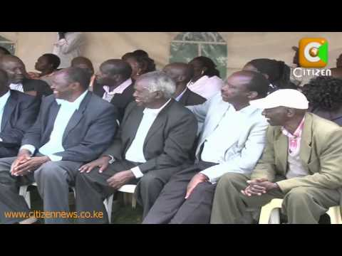 kenyacitizentv - The Hague process is unstoppable! Well, that is Prime Minister Raila Odinga's message to his two key rivals in the Kibaki succession contest William Ruto and...