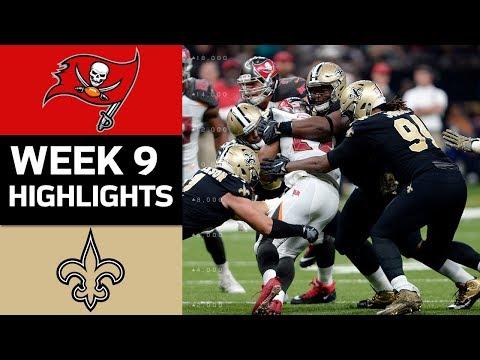 Buccaneers vs. Saints | NFL Week 9 Game Highlights - Thời lượng: 7:49.