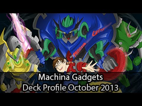 Machina Gadgets – Yugioh Deck Profile October 2013