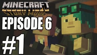 "Minecraft Story Mode - EPISODE 6 GAMEPLAY WALKTHROUGH ""A Portal To Mystery"" (PART 1)"