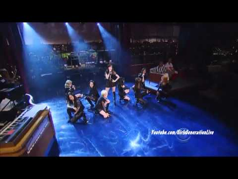 [HD] SNSD / Girls Generation – The Boys (English Version) @ David Letterman Show