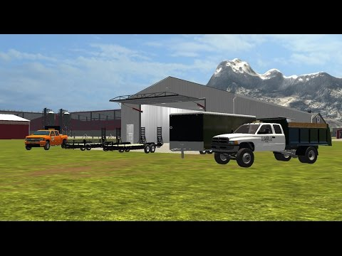 LoadTrail Landscape Trailer