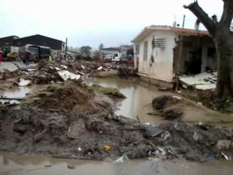 Enchente em Branquinha