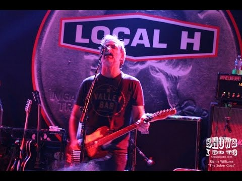 "Local H ""As Good As Dead 20-Year Tour"" The Social, Orlando FL 08/22/2016"