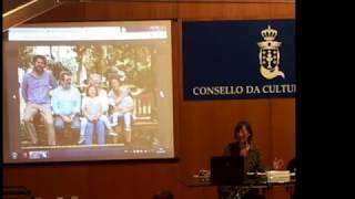 Presentación da cartografía de Carmela Porteiro no Álbum de mulleres