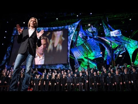 eric - Composer and conductor Eric Whitacre has inspired millions by bringing together