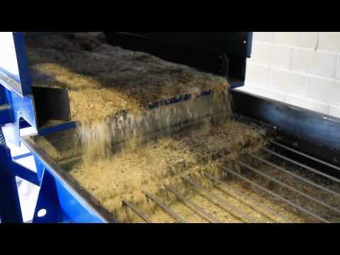 Sawdust Seperation Utilising Linear screeners