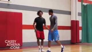 Thru The Lens: Lost Footage -Off Season workouts: Nick Young vs Paul George