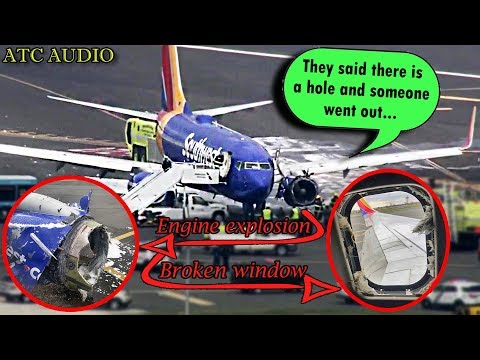 Southwest Airlines Flight 1380 ATC transcript & visualization