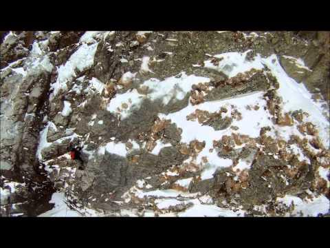 Výpadok horolezca v stene Malého Kežmarského štítu
