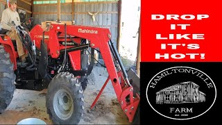 9. How to remove a Front End Loader on a Mahindra 4540- [2019]