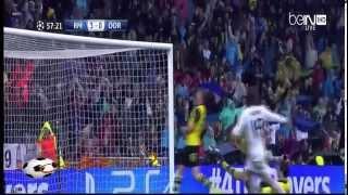 Video أهداف مباراة ريال مدريد 3   0 بروسيا دورتموند 2 4 2014 حفيظ دراجي HD MP3, 3GP, MP4, WEBM, AVI, FLV Oktober 2017