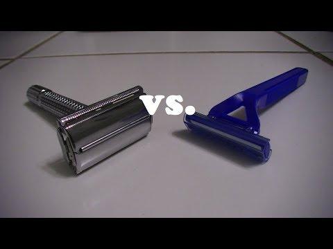 Shootout: Safety Razor vs. Disposable Razor