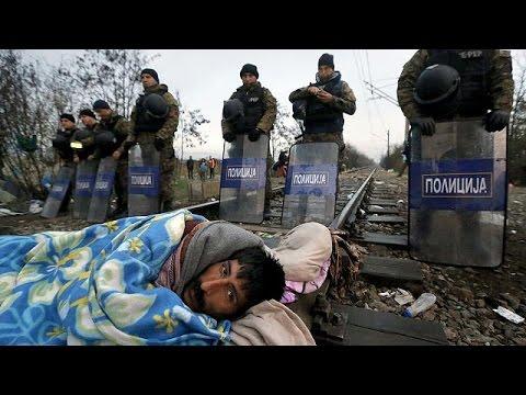 Εξαθλιωμένοι πρόσφυγες παλεύουν για μια καλύτερη ζωή, μέσα σε κλειστά σύνορα