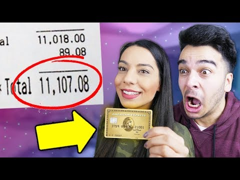 I Gave Away My Credit Card TO MY SISTER FOR 24 HOURS! (NEVER AGAIN!!!) (видео)