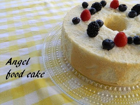 angel food cake - ricetta