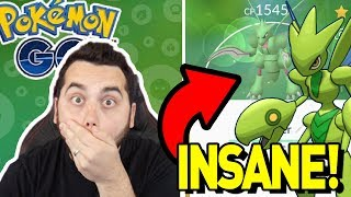 MY LUCK IS INCREDIBLE! ANOTHER SHINY SCYTHER in POKEMON GO! by aDrive