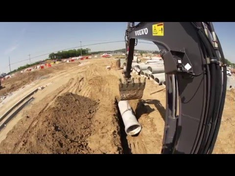 Volvo EW60E Compact Excavator Promotional Video