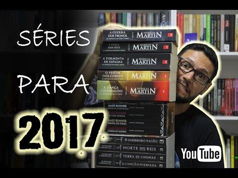 Séries para ler em 2017 | @danyblu @irmaoslivreiro