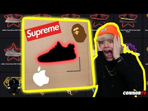 Insane $2,200 Hypebeast Mystery Brand Box for $500 - Supreme, Yeezy and Apple
