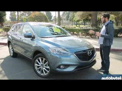 2014 Mazda CX-9 Grand Touring Test Drive Video Review