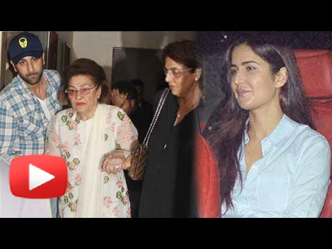 Katrina Kaif Dinner DATE With Ranbir & Family | Wa