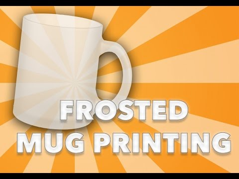 sublimation training video - frosted glass